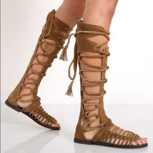 🎀 Free People 🎀 Sunseeker Gladiator Sandals